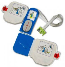 Zoll 8900-0800-01 CPR-D-padz Adulto para AED Plus & Pro. (1) Unidad Zoll 8900-0800-01, parche zoll, electrodo parche,  zoll aed padz para aed, aed plus padz adulto, cpr adulto, cpr padz para aed plus