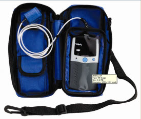Nonin 2500CC Bulto Azul para 2500 nonin 2500cc, nonin 2500cc carrying case, carrying case 2500, handheld carrying case, 2500cc, bulto azul