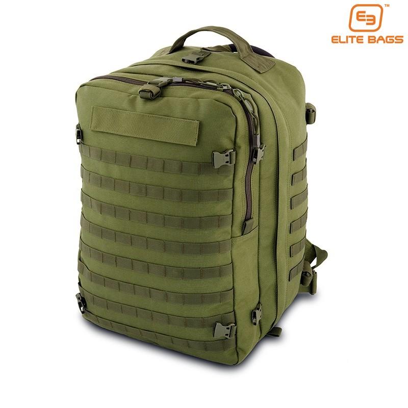 ELITEX Mochila 45L T/áctica Militar Bandera Espa/ña Impermeable para Crossfit Caza Aire Libre Deportes Gimnasio Portatil Oxford 900D